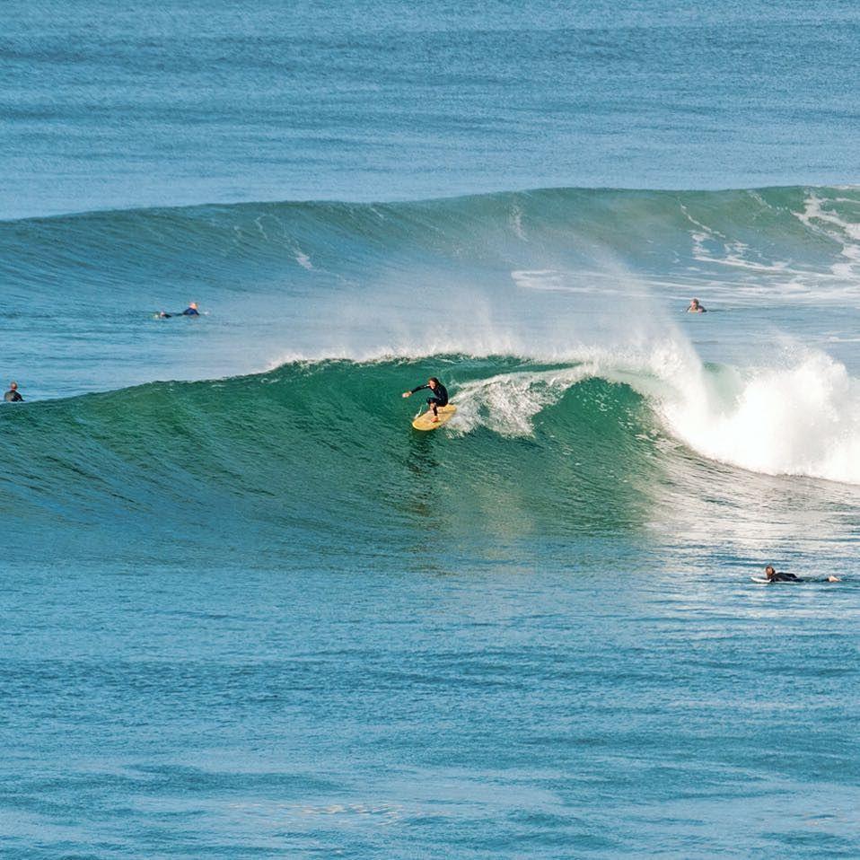 Derek Hynd Adrift In The Bells Bowl Surfwithsurfangle Waveoftheday Finless Alaia