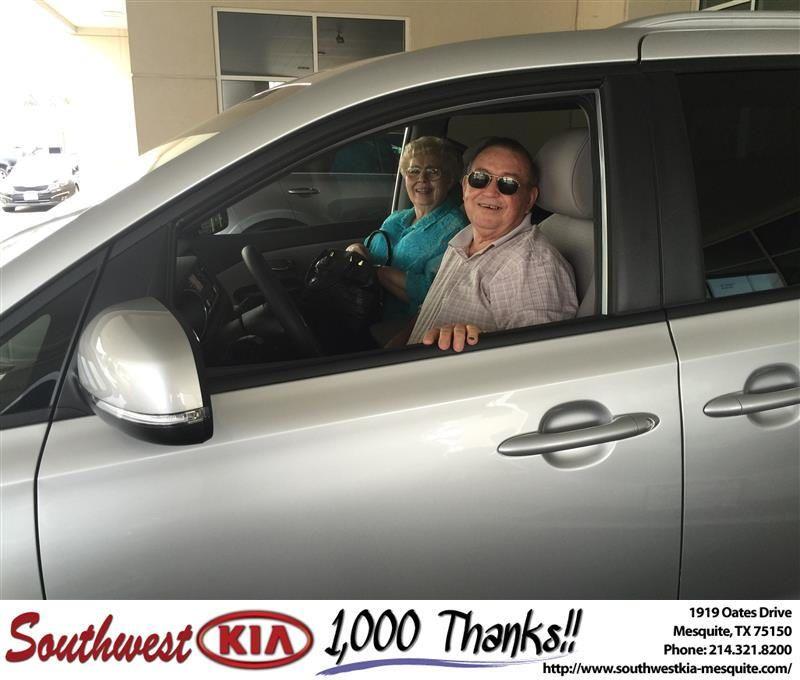 https://flic.kr/p/L1QJsi   Congratulations Ann on your #Kia #Sedona from JERRY TONUBBEE at Southwest Kia Mesquite!   deliverymaxx.com/DealerReviews.aspx?DealerCode=VNDX