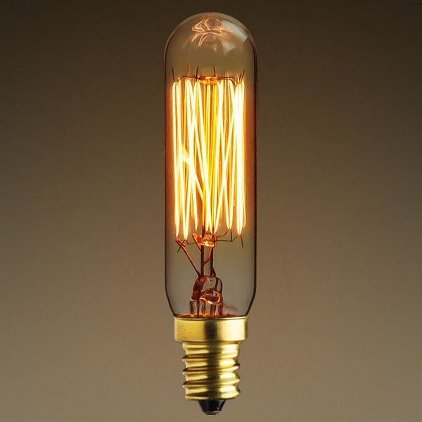 25 Watt Antique Light Bulb T6 Tubular Style Antique Light Bulbs Vintage Light Bulbs Vintage Bulbs