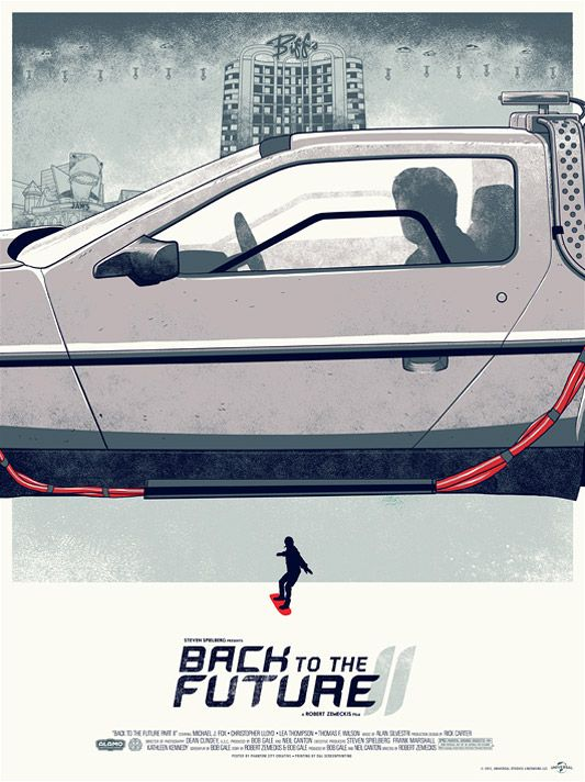 Mondo S Awesome New Back To The Future Franchise Poster Triptych