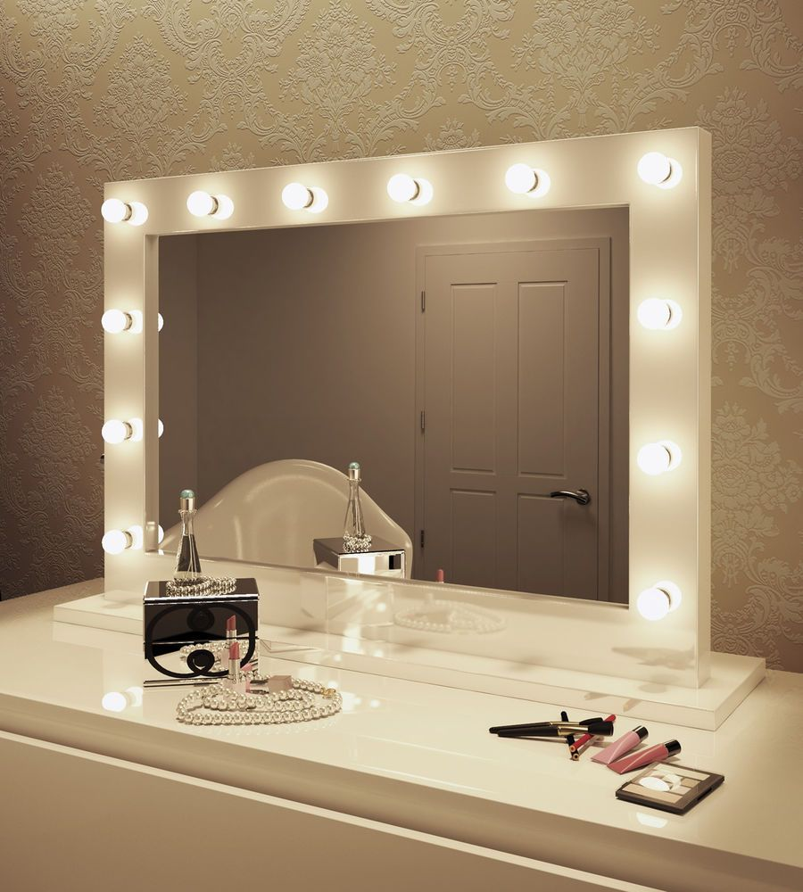 Led Hollywood Vanity Makeup Mirror Bathroom Design Decor Hollywood Mirror With Lights Vanity