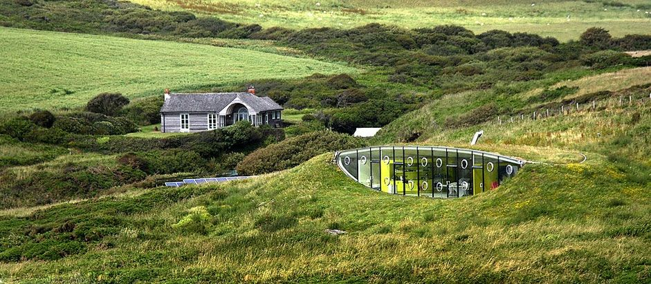 Malator, An Earth Sheltered House In Wales, By Architects Future Systems