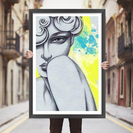 Placa decorativa woman  - StickDecor | Decoração Criativa