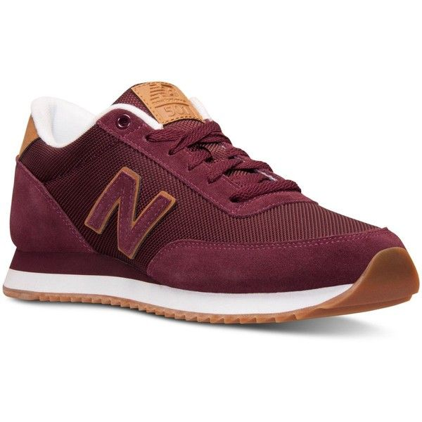 New Balance Men's 501 Ripple Sole Casual Sneakers from Finish Line ($70) ❤  liked