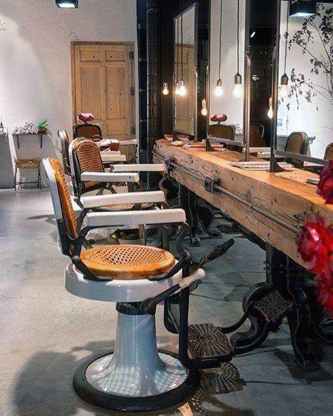 Top 80 Best Barber Shop Design Ideas