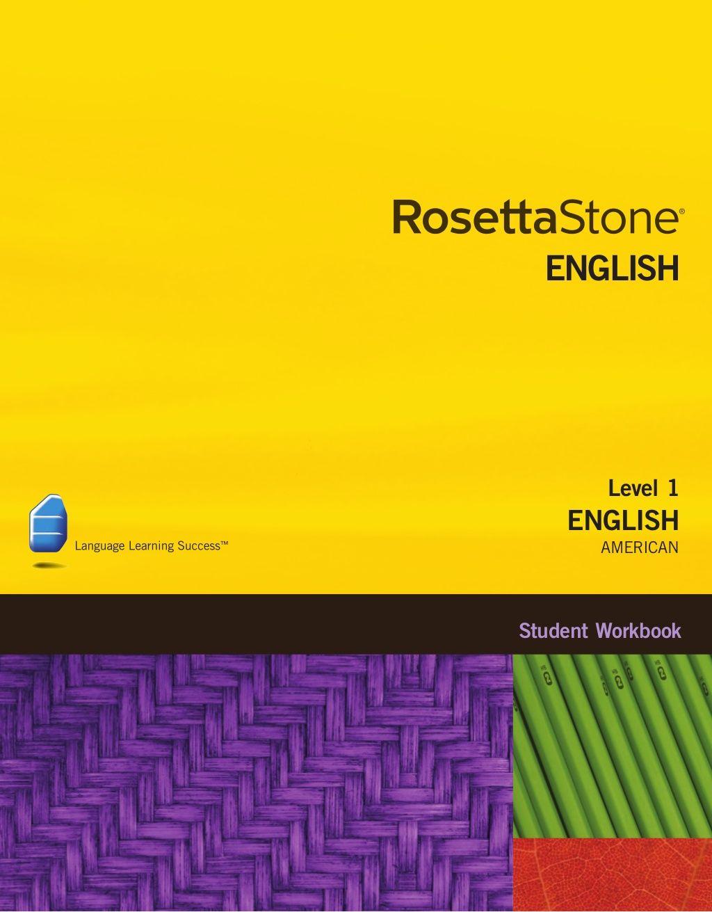 English American Level 1 Student Workbook By Juan
