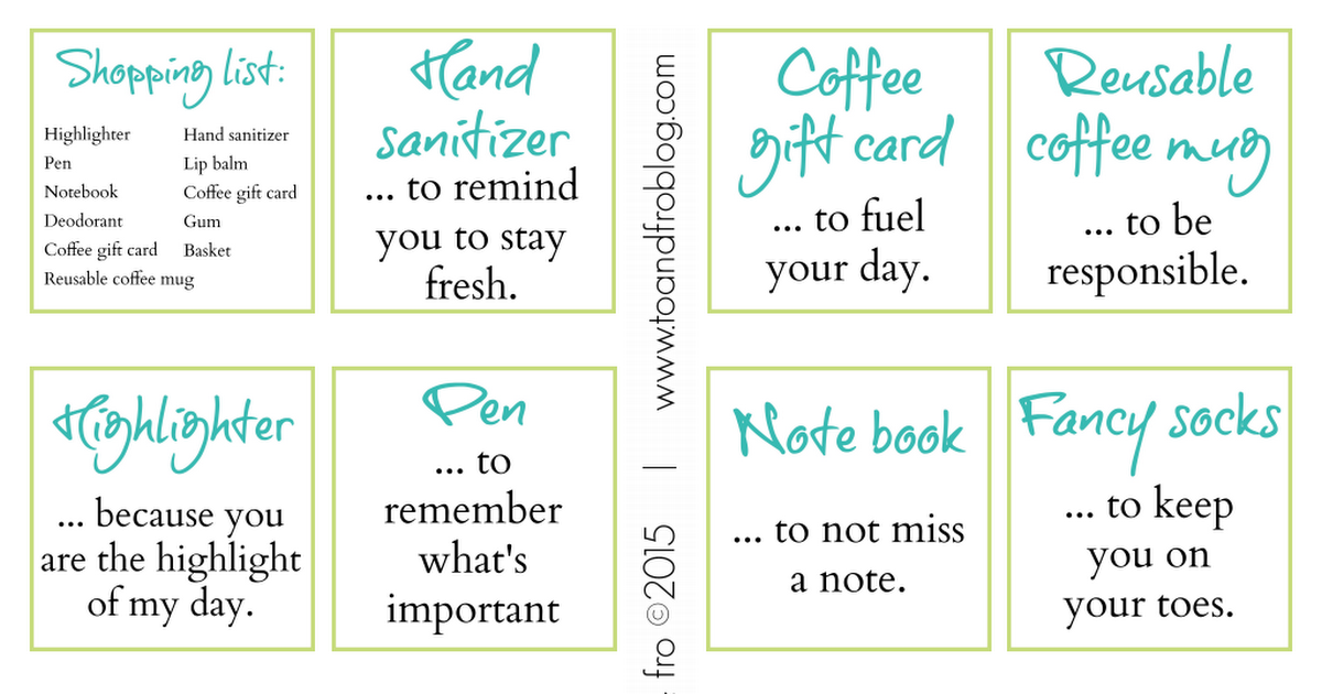 New Job Survival Kit Printable Pdf New Job Survival Kit New Job Coffee Gifts Card