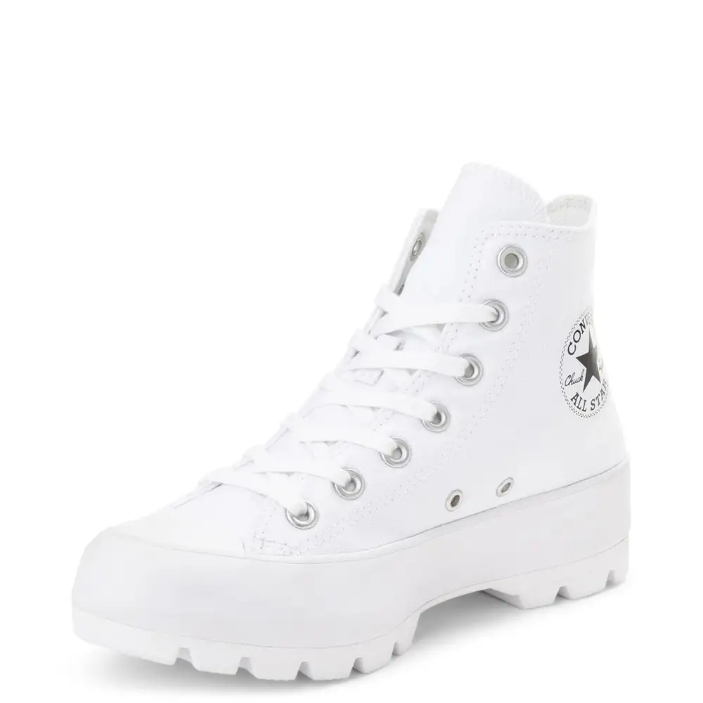 Womens Converse Chuck Taylor All Star Hi Lugged Sneaker #whiteallstars