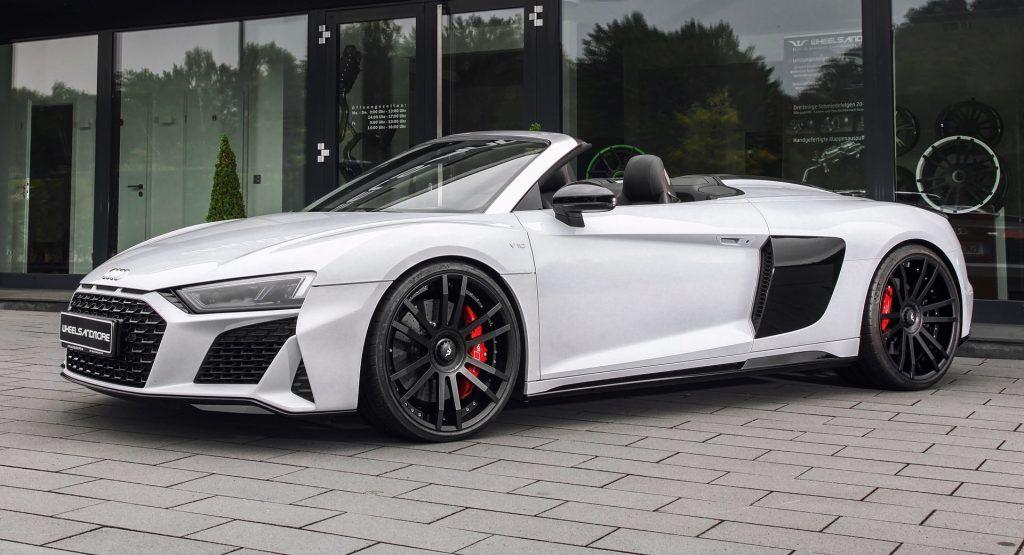 Audi R8 V10 Plus Spyder Pumped Up To 1035 Hp For Over 100000 In 2020 Dream Cars Audi Audi R8 Audi R8 V10