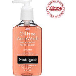 Neutrogena(R) Facial Cleanser Pink Grapefruit Oil-Free Acne