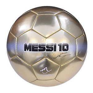 New Baden Messi Deluxe Gold Soccer Ball Size 5 Gold Free Shipping Soccer Ball Messi Soccer