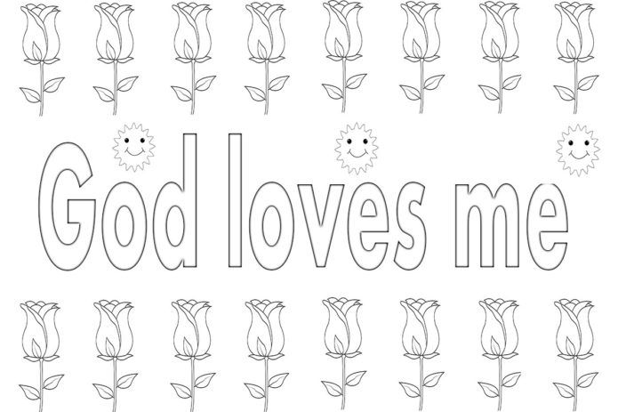 god is love coloring pages ( images)  love coloring