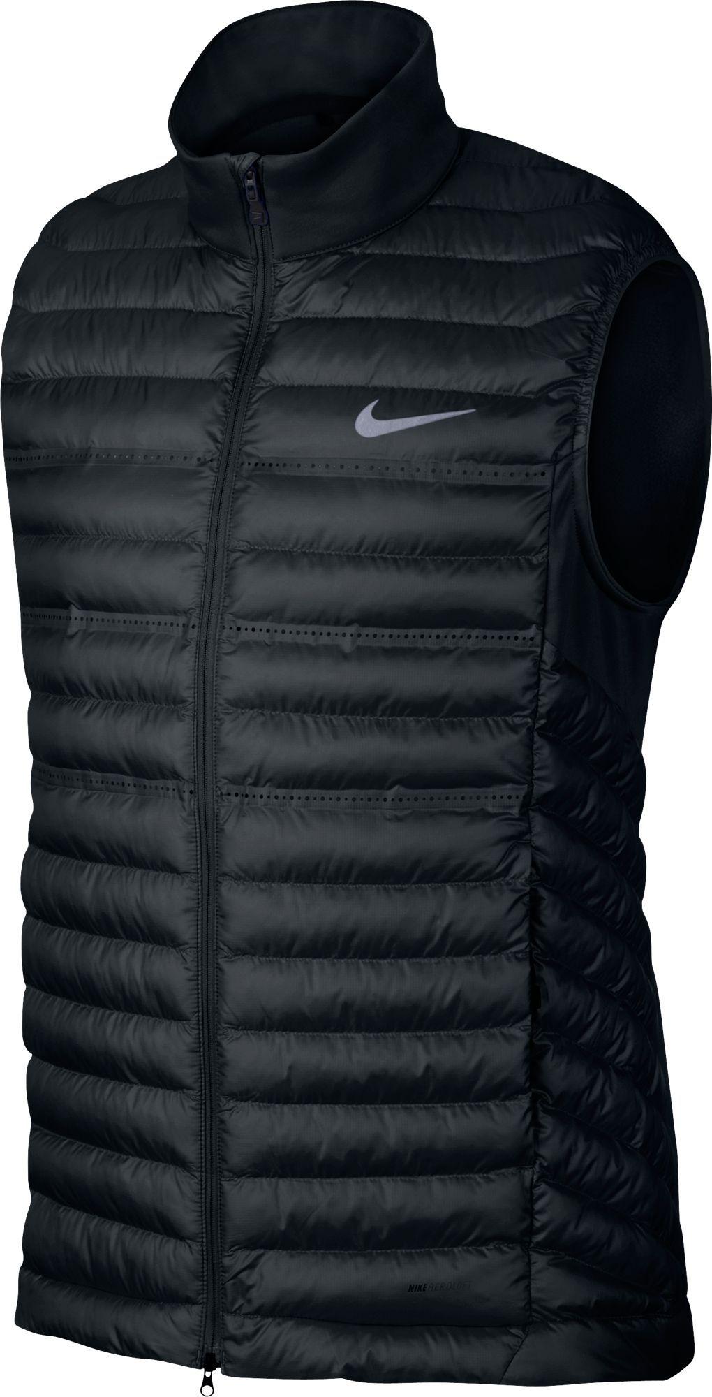 mens polyester golf vest
