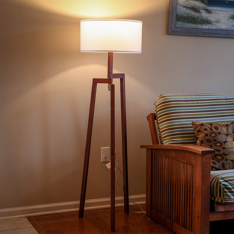 Brightech New Mia LED Tripod Floor Lamp Modern Design