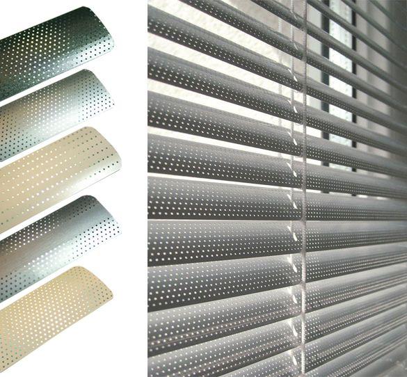 Tende Microforate Per Esterni.Tende Alla Veneziana In Alluminio Microforato Kadeco Tecnical