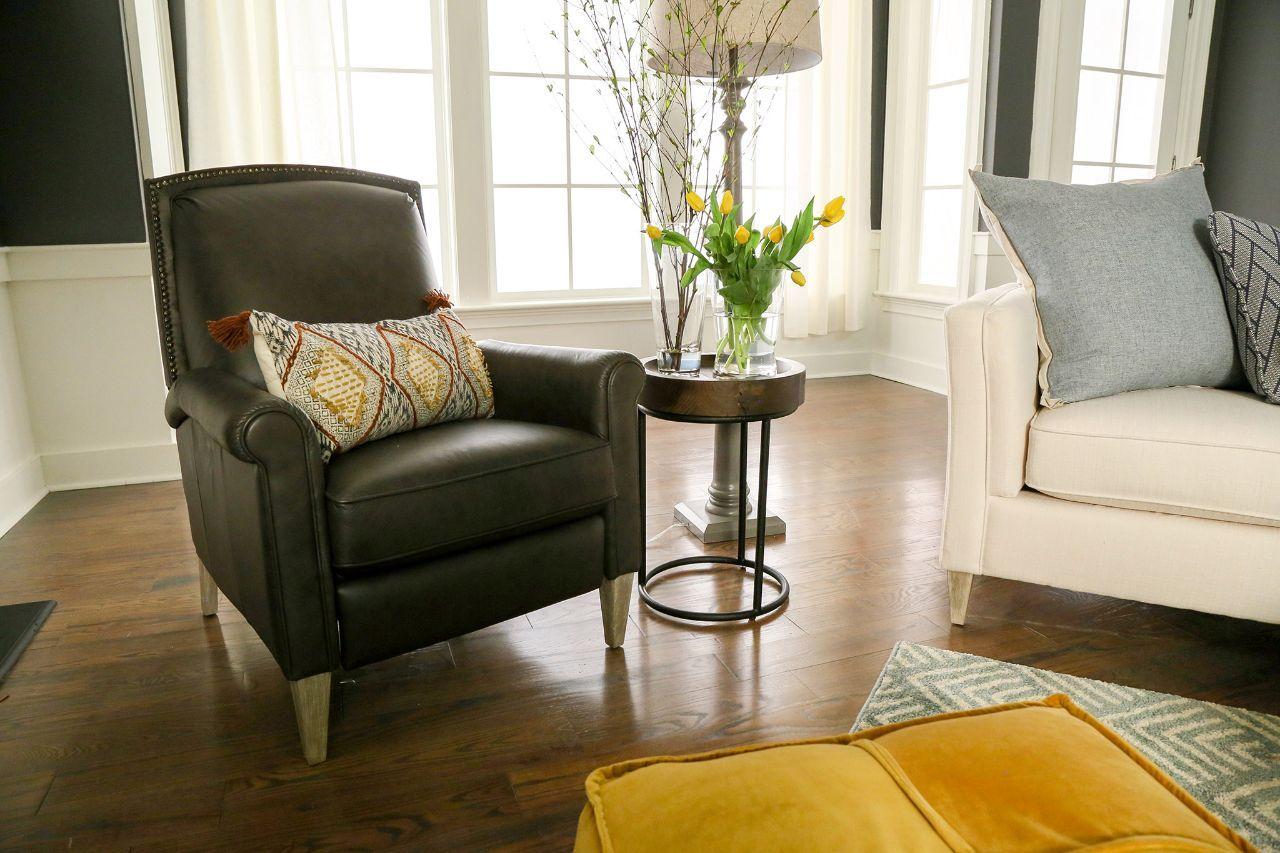 Chandler High Leg Reclining Chair Furniture Living Room Bedroom
