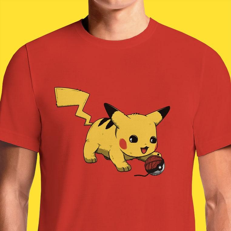 bfe93933 Pokemon Pikachu Women's Mens T Shirt in India Online. Awesome 20Th  Anniversary Funny T-Shirts. Buy Best Female Cheap Cool Cute Clever Tshirt  Designs ...