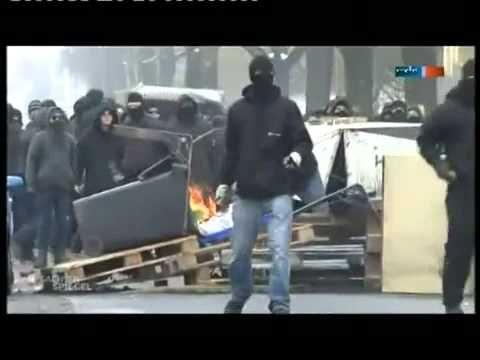 19.02.2011 Naziaufmarsch in Dresden - Beitrag Sachsenspiegel - YouTube