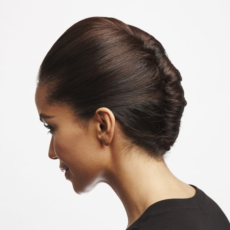 Classic French Twist Twisted Updo Hairstyle How To Loral Paris