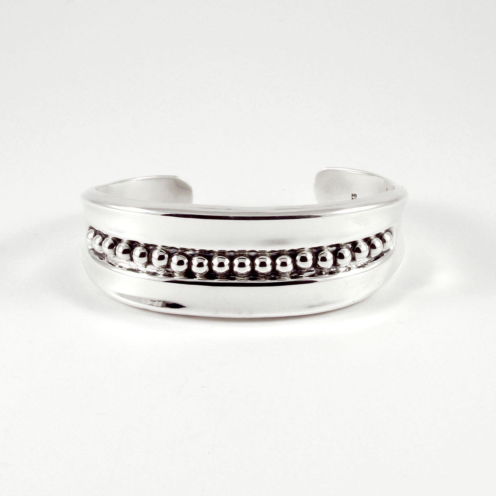 gros bracelet argent massif