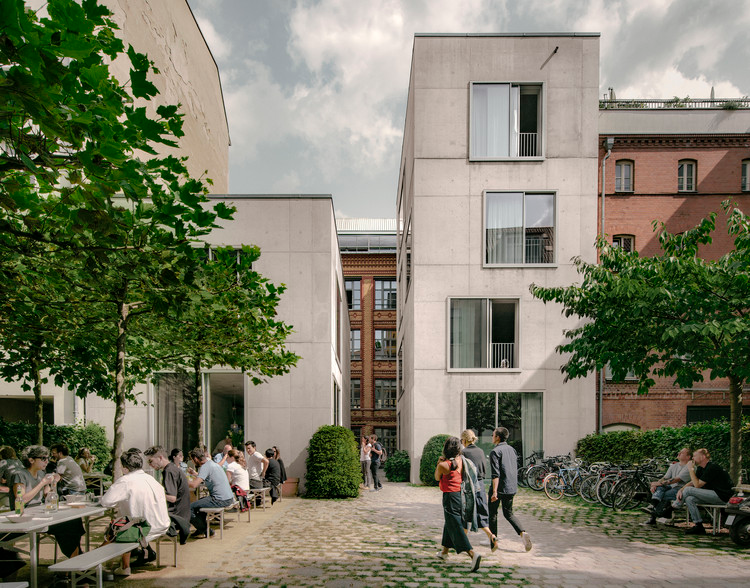 Campus Joachimstraße / David Chipperfield Architects in ...