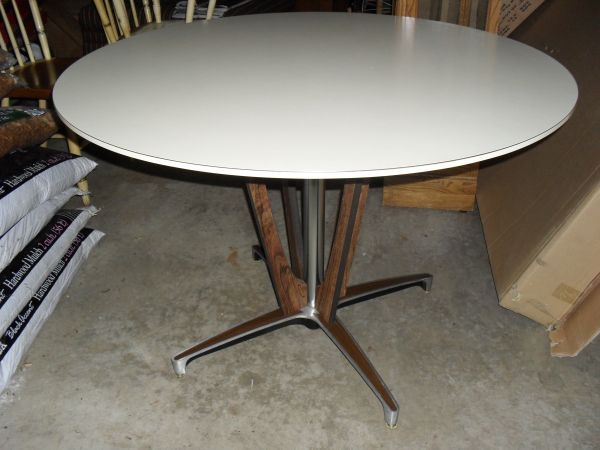 85 vintage chromcraft mid century modern dining table - Chromcraft Dining Room Furniture