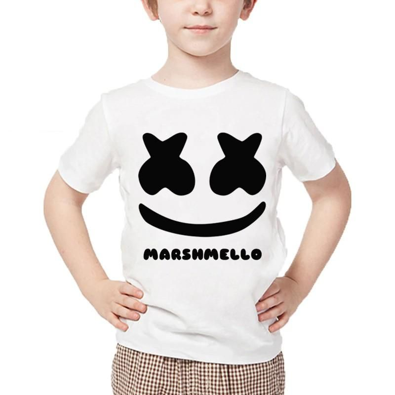 Dj Marshmello Children T Shirts Kids Tshirts T Shirts For Women