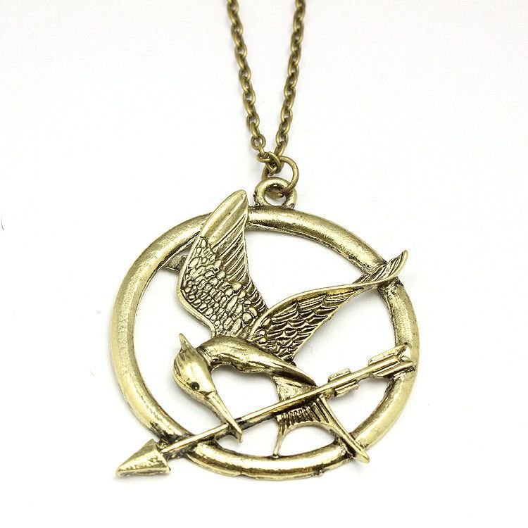 The hunger games mockingjay pendant necklace christmas fun the hunger games mockingjay pendant necklace mozeypictures Images