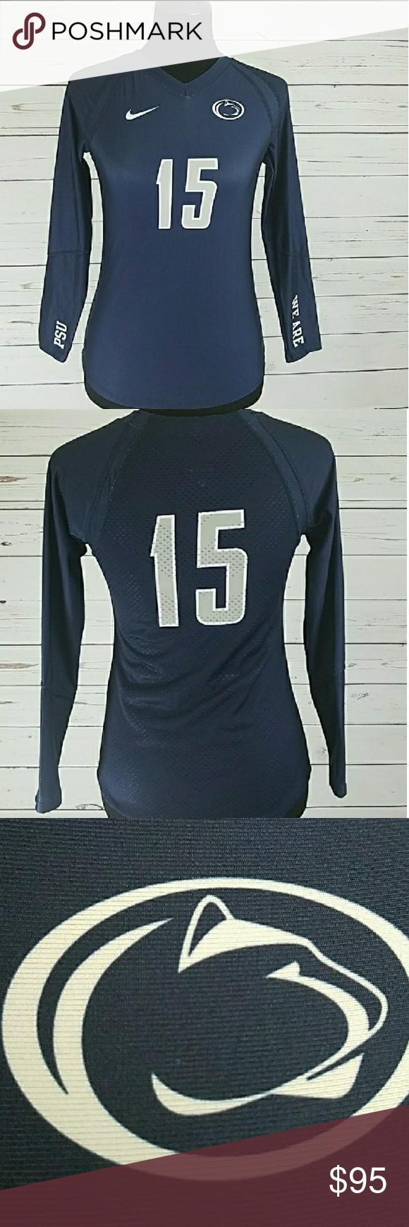 Nike Penn State Volleyball Jersey Medium Nwt Volleyball Jerseys Penn State Volleyball Jersey