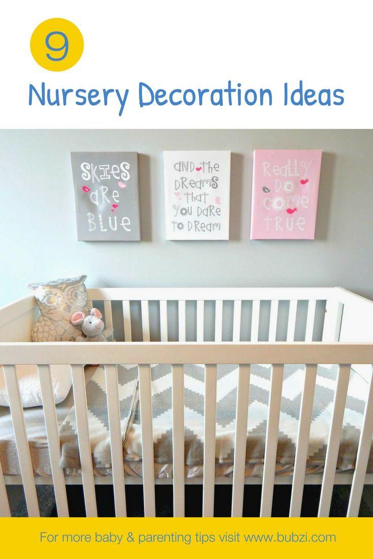9 Neutral Nursery Decoration Ideas