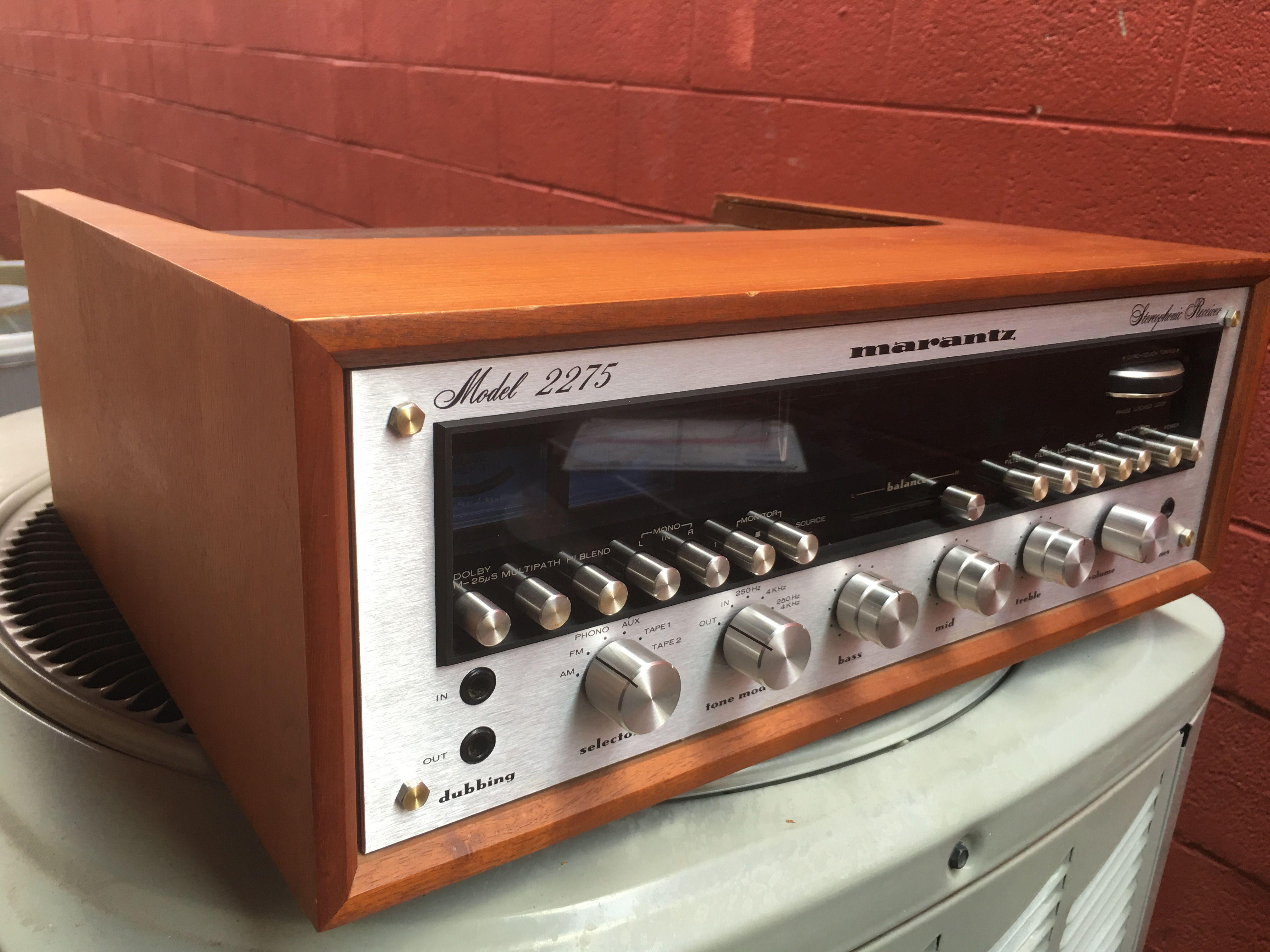 Marantz 2275 $850 | Marantz | Audio, Audiophile, Vintage