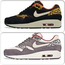 Nike air max 1 met een panterprint | Nike air max, Nike air ...