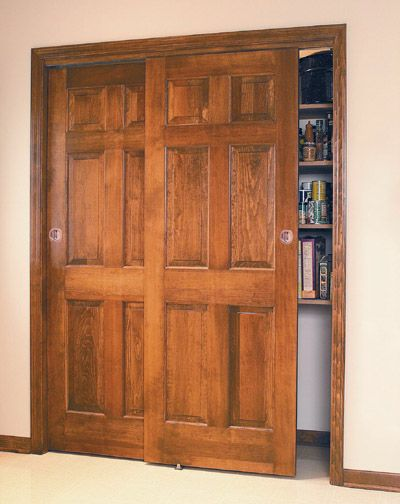 Elegant Sliding Pantry Folding Doors | Interior Doors Direct Sliding Closet Doors