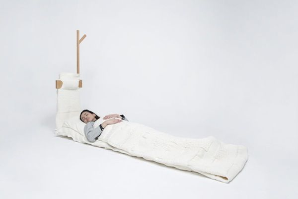 An Elegant And Portable Furniture Set Designed For Nomads - DesignTAXI.com