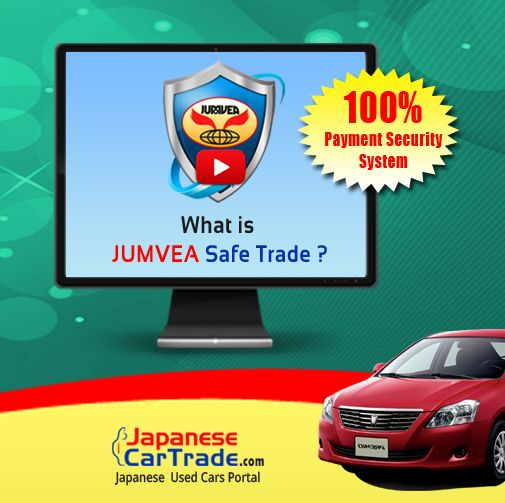 What is JUMVEA Safe Trade (JUST)?  https://www.youtube.com/watch?v=gnsWoXTaIRw  Watch above video to know about JUST. JUST provides complete protection to buyers money while buying used vehicle from Japan.