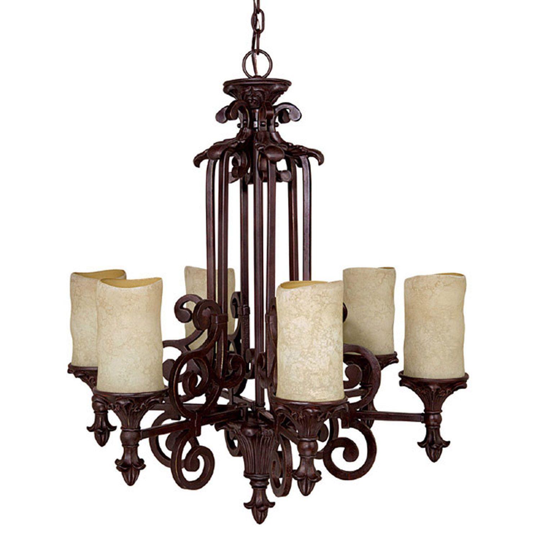 Mid Chandeliers Pillar Candle lifestyles edmond $399