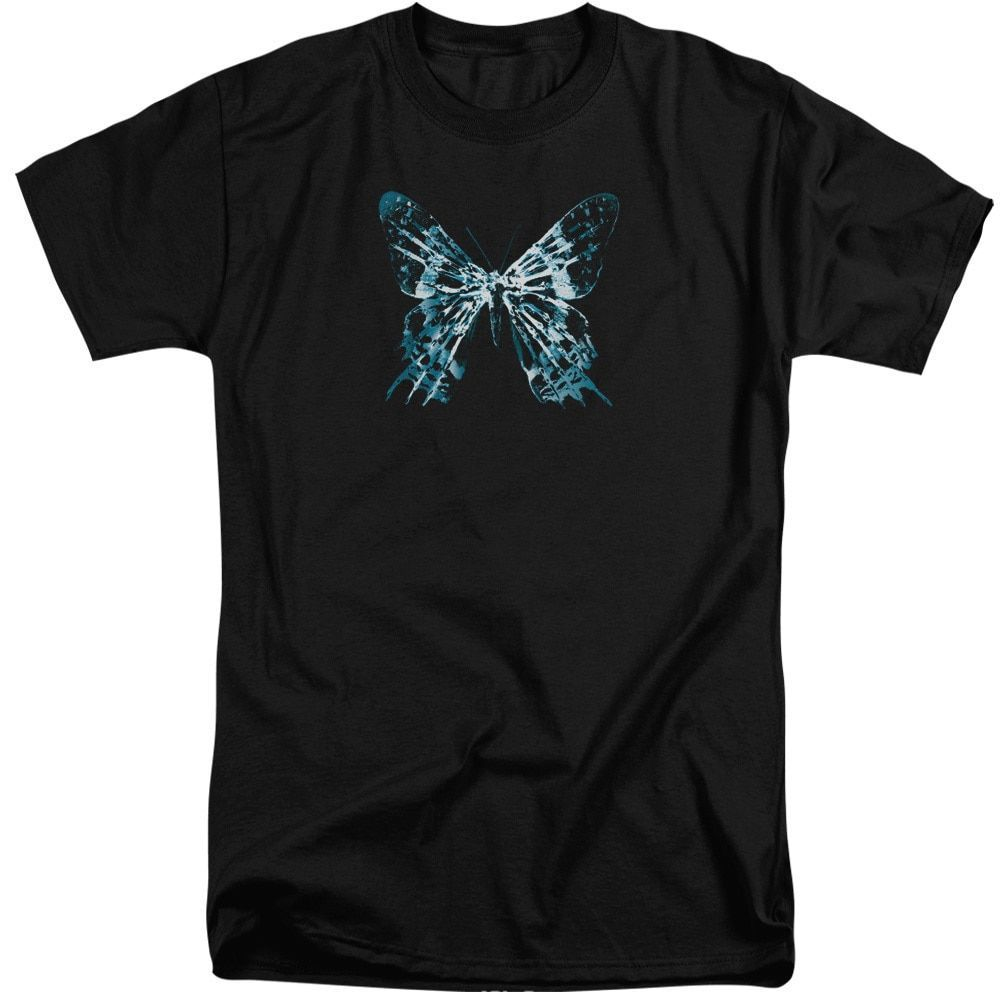 Fringe/Butterfly Glyph Short Sleeve Adult T-Shirt Tall in