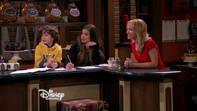 "#GirlMeetsWorld 2x08 ""Girl Meets Hurricane"" - Auggie, Topanga and Katy"