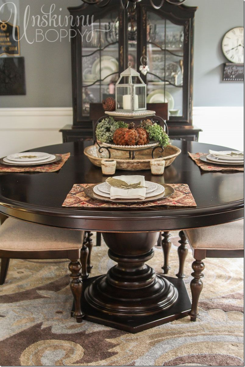 Tablescape Set A Dining Room Table For Fall By Unskinny