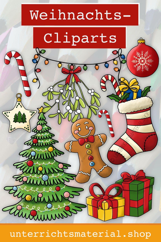 Weihnachten Cliparts Weihnachten Clipart Weihnachten Weihnachten Mitbringsel