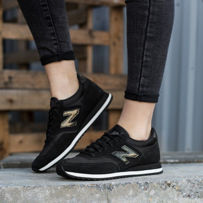 Buty New Balance Cw620fmc British Style Men Running Shoes For Men Black Lace Up Flats