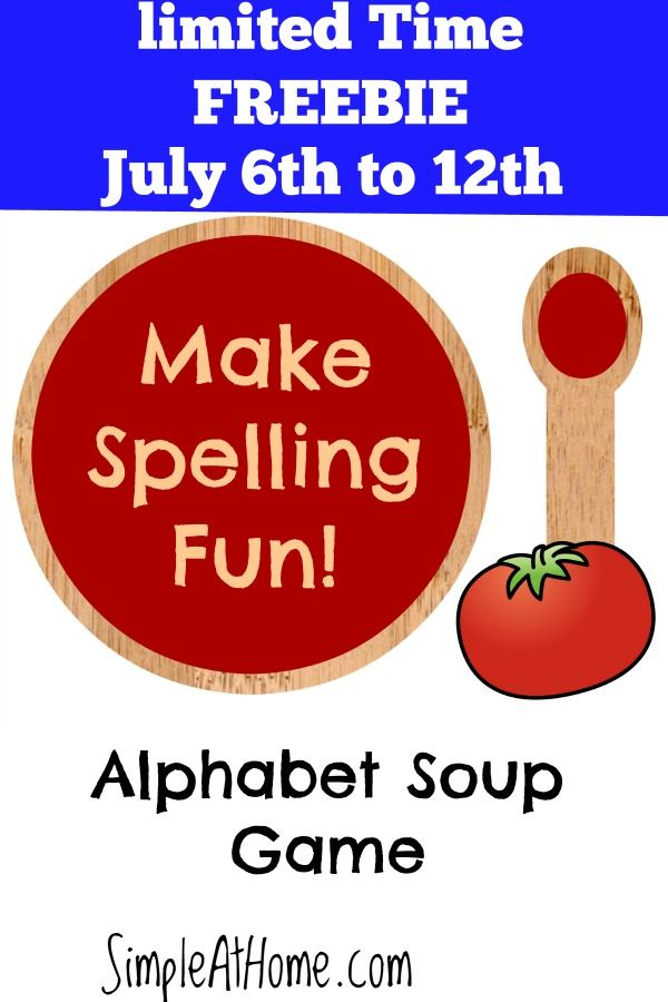Want a fun game to make spelling fun for your kids?