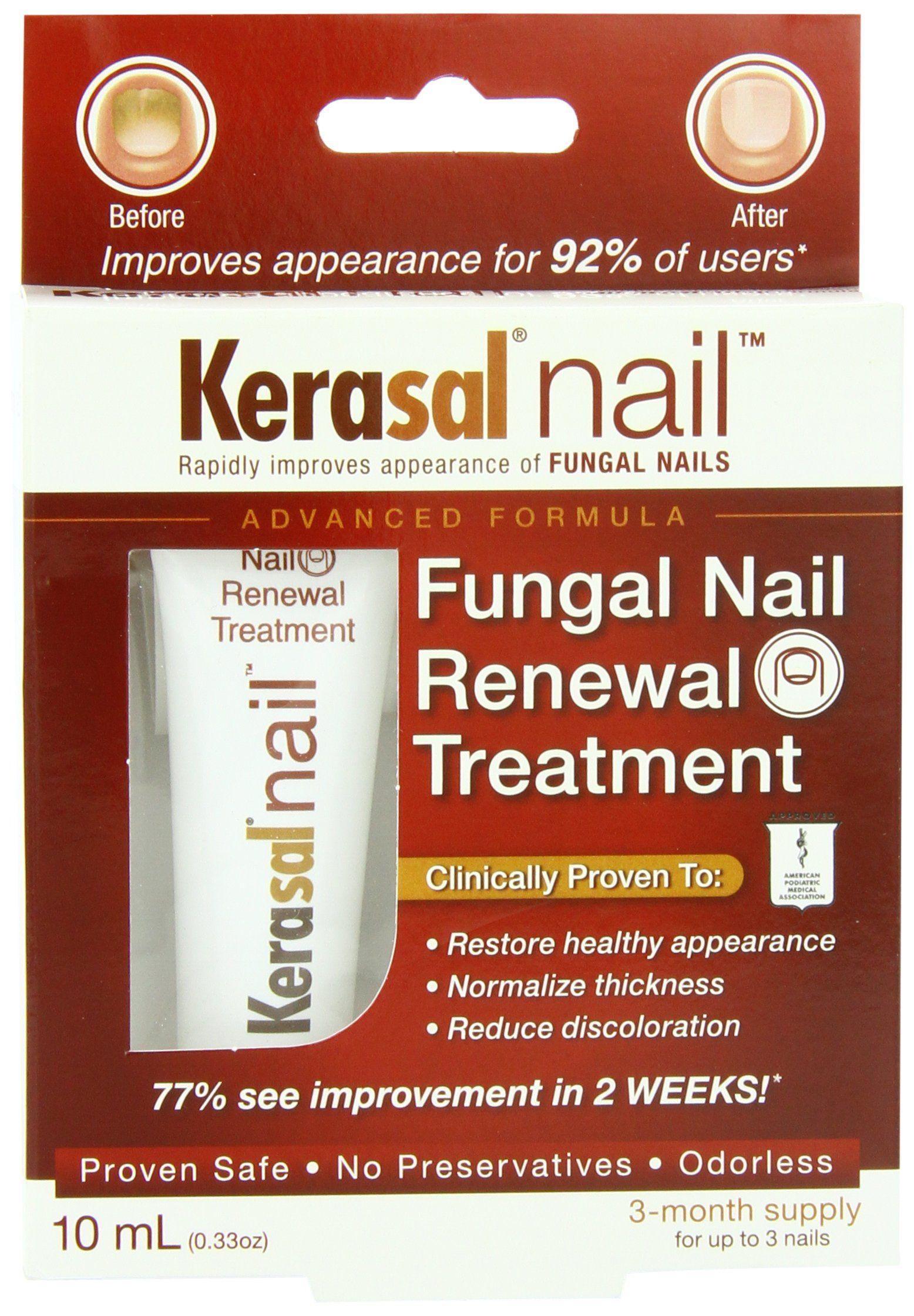 Kerasal Nail Fungal Nail Renewal Treatment, 10ml | Podiatry | Pinterest