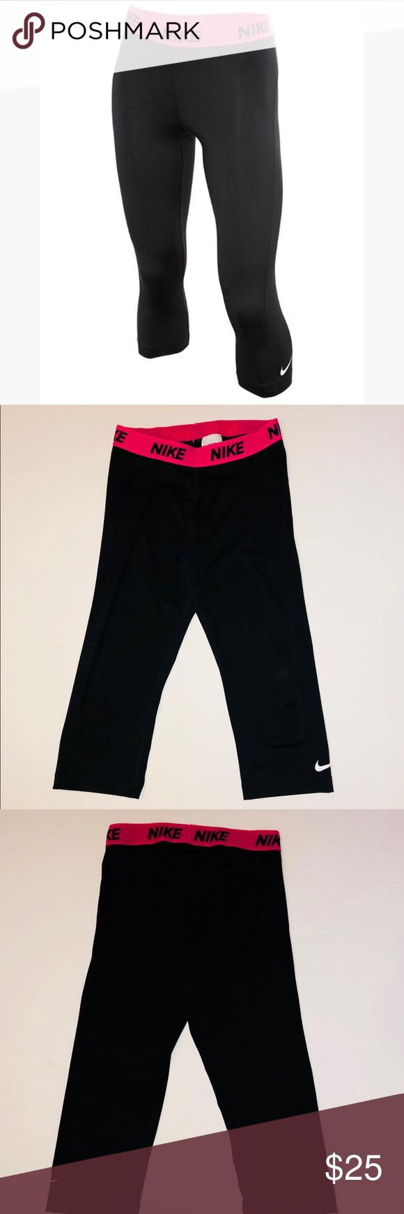 Women's Nike Dri-Fit Capri Leggings. Size Medium Women's ...