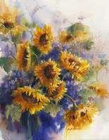 Sunflowers 2005 by Jennifer Bowman