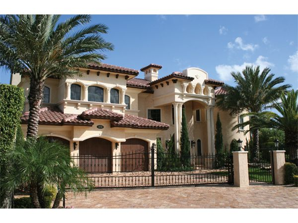 Painters Hill Luxury Home from houseplansandmore.com  master up with elevator.  mediterranian style