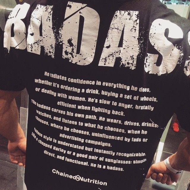 """""""So guys, do you have what it takes to be a badass?  #badass#gentleman#goodguys#chainednutrition"""" Photo taken by @sarahjelving on Instagram, pinned via the InstaPin iOS App! http://www.instapinapp.com (01/27/2015)"""