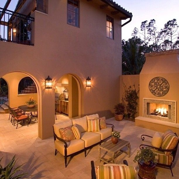 Spanish Courtyards Homes Home Design Ideas, Pictures, Remodel And Decor