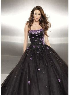 377a32e78ae Ball-Gown Sweetheart Floor-Length Organza Satin Prom Dress With Embroidered  Ruffle Beading