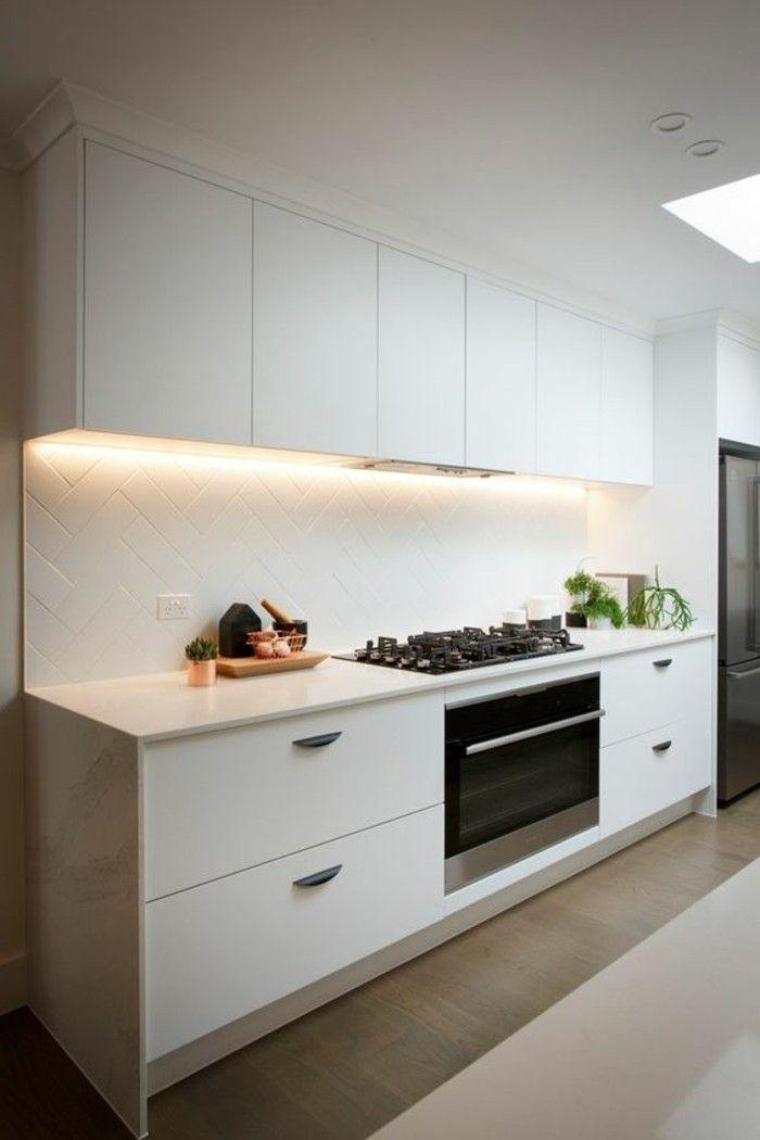Le carrelage blanc - 74 idées fantastiques pour le revêtement